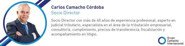 Carlos Camacho Córdoba, Socio Director de GCI