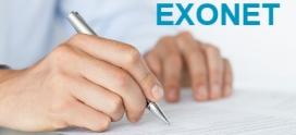 Obligatoriedad de utilización de EXONET